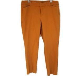 Burnt Orange Old Navy Pixie Pants